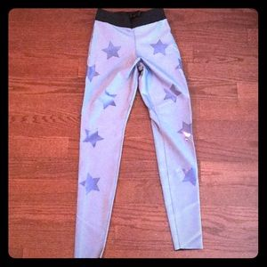 Ultracor NWT Knockout Star Leggings Periwinkle S